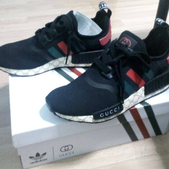 best loved 82bbb 98cab Adidas Nmd Gucci, Women s Fashion, Shoes on Carousell