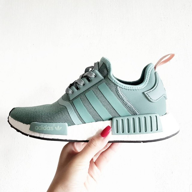 6341253ad8004 Adidas NMD R1 Vapour Steel   Pink