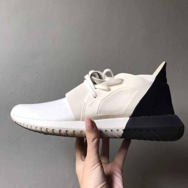 Adidas tubular defiant black & white