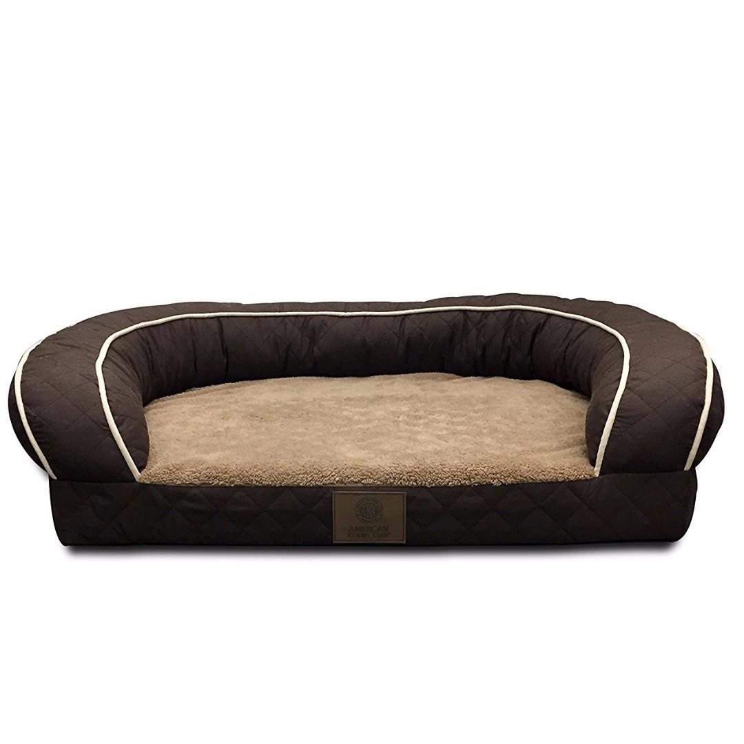 Miraculous American Kennel Club Orthopedic Memory Foam Sofa Dog Cat Pet Bed Quilted Creativecarmelina Interior Chair Design Creativecarmelinacom