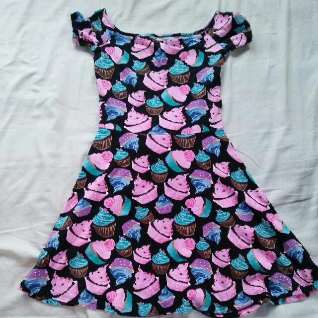 auth H&m off shoulder dress