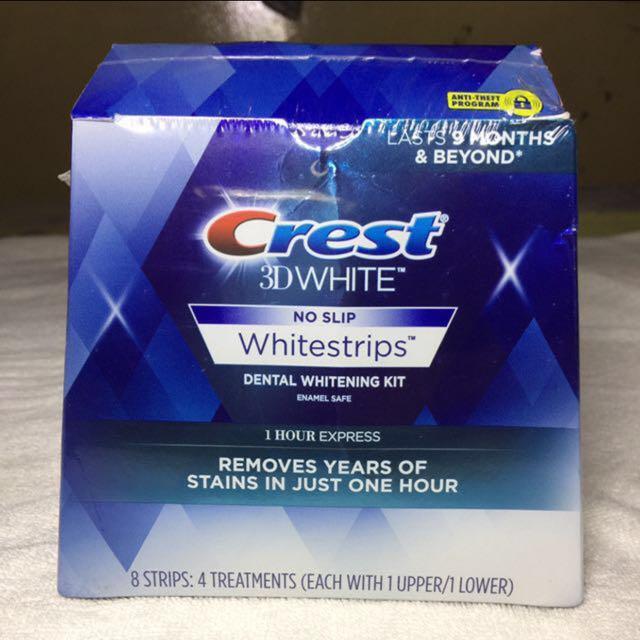 AUTHENTIC Crest 3D Whitestrips