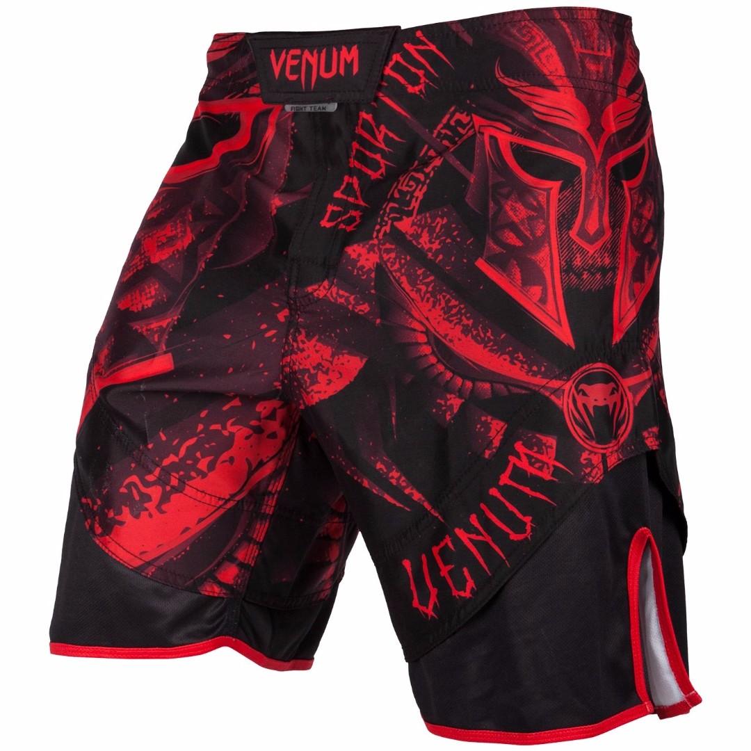 798987e1b08b Authentic Venum Gladiator 3.0 MMA Fight Shorts (Red Black) - Latest ...