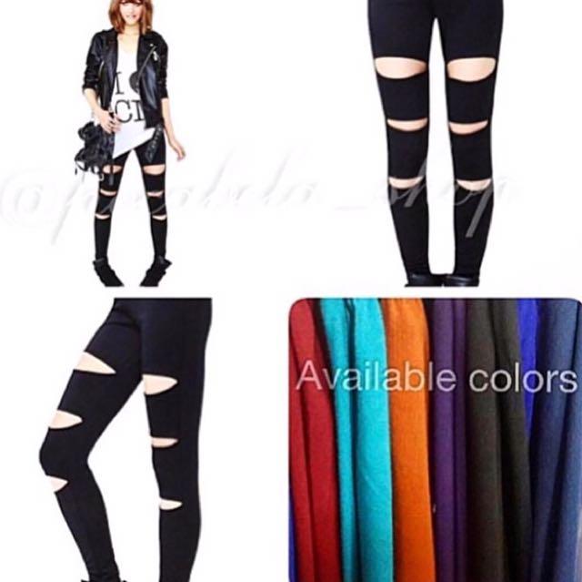 Avril Ripped Leggings