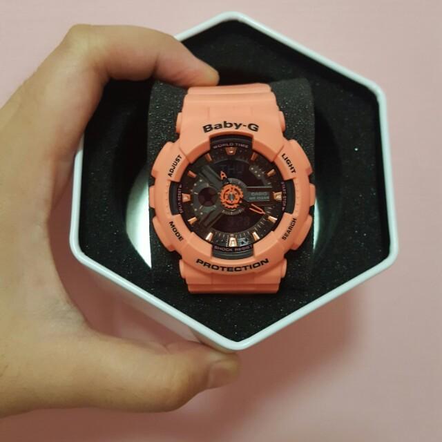 BABY G BA-1114A2DR ( Orange )