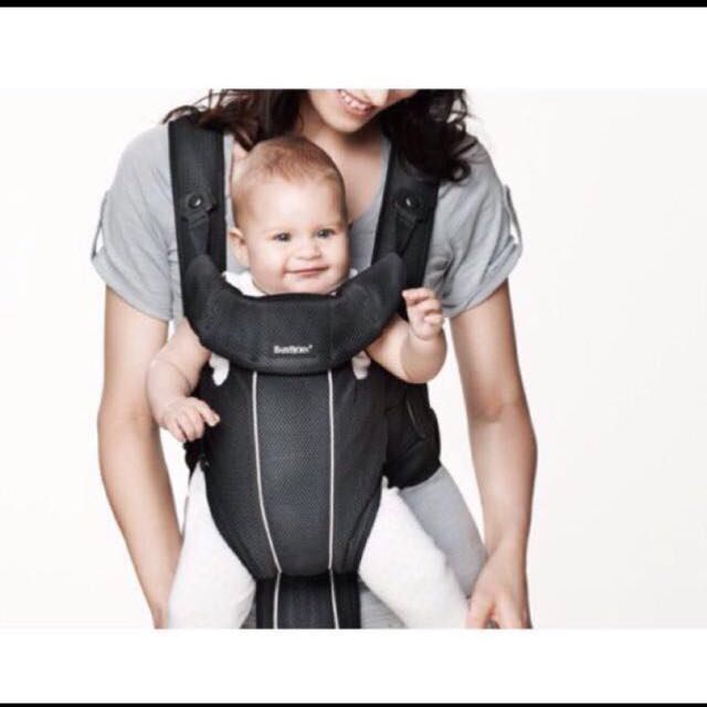 7cbcf77e22a BabyBjorn Baby Carrier Synergy in Black Mesh (Baby Sling)