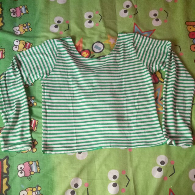 Baju sabrina hijau