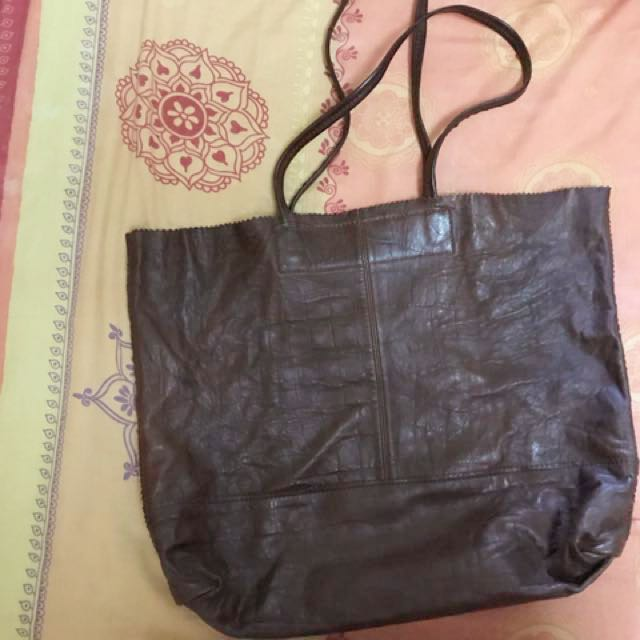 Banana Republic Calf Leather Tote