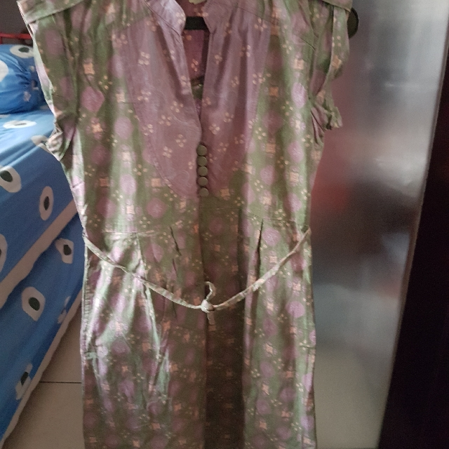 batik dress size xs-s