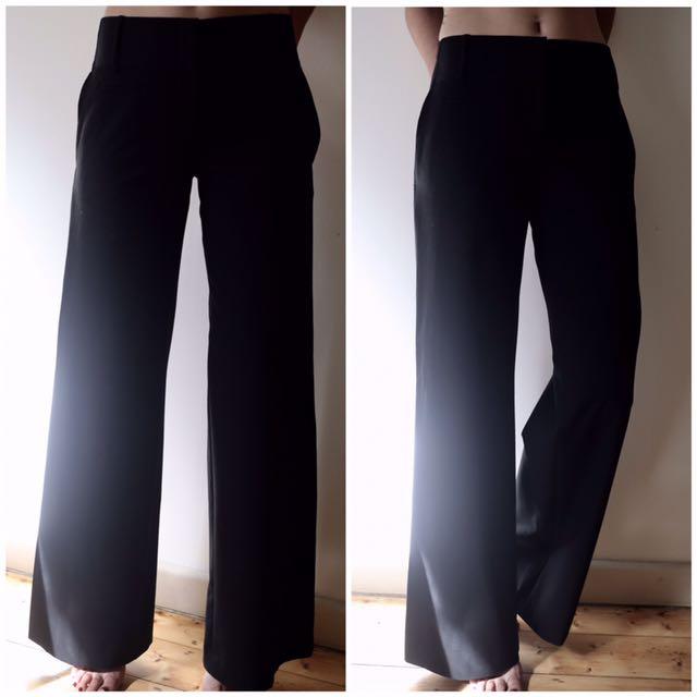 BCBG MAXAZRIA wide leg pants