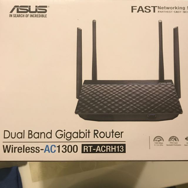 BNIB: Asus dual band gigabit router (AC1300 RT-ACRH13)
