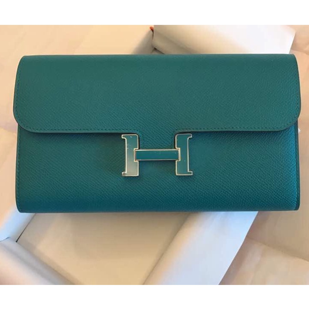 99c9c42e95ae ... cheap brand new hermes constance epsom enamel buckle long wallet luxury bags  wallets on carousell 4f470