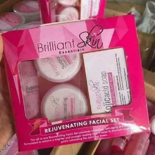 Brilliant Skin Care: Rejuvinating Set