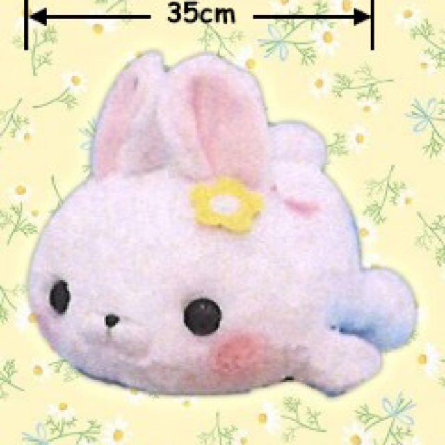 Bunny Plush Sluggy Mofu-san Friends Jumbo