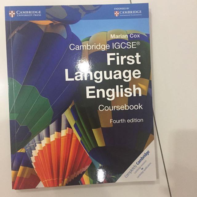 Cambridge IGCSE English First Language