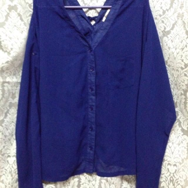 Dark Blue Long Sleevs