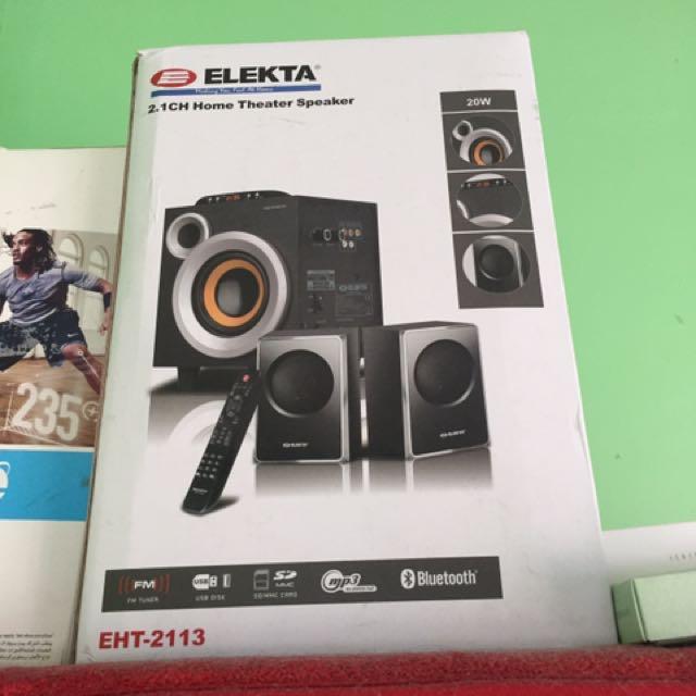 Elekta Home theater speaker