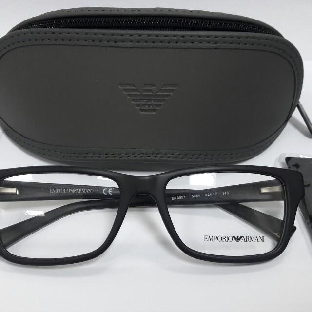 Emporio Armani Eyeglasses Rayban Oakley Police