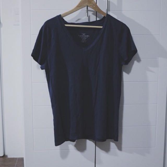 Faded Glory Navy Blue Shirt