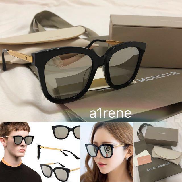 b335440b054 ⚡ 🔥GENTLE MONSTER ABSENTE 01(2M) GOLD Sunglasses