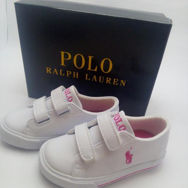 Girls' Polo Ralph Lauren Scholar EZ Sneaker - Little Kid