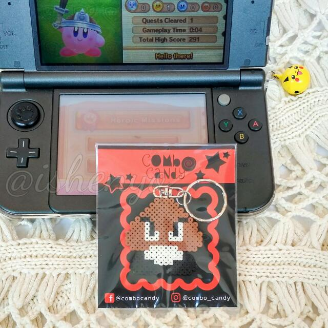 Goomba Mario Bross Keychain