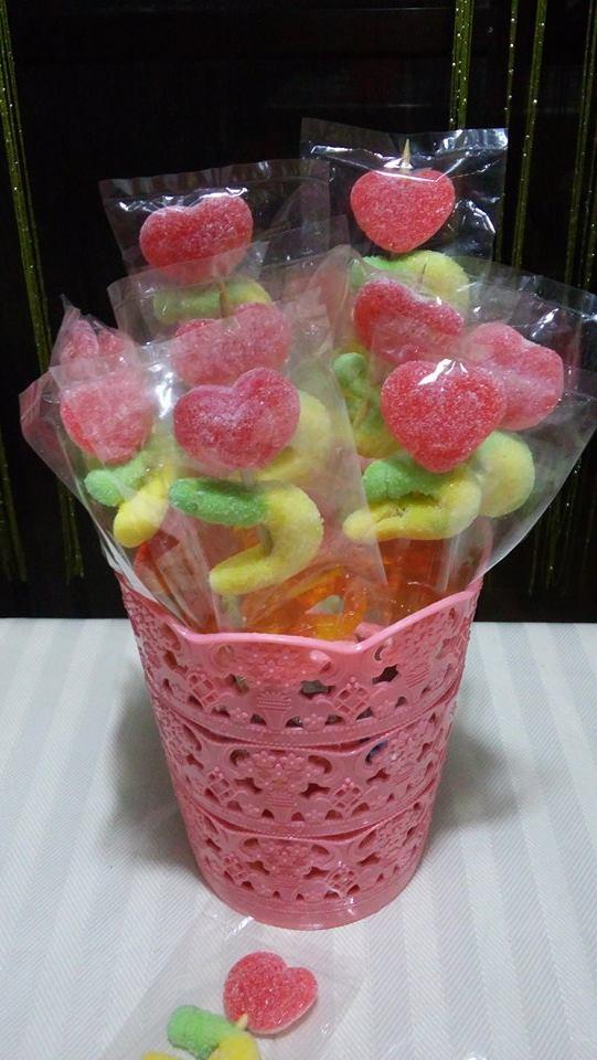 Gummys on Sticks (Assorted) Giveaways