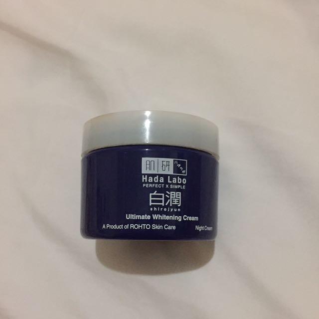 Hada Labo Ultimate Whitening Night Cream