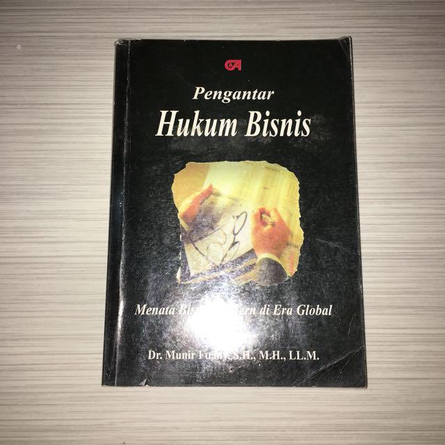 HUKUM BISNIS ( dr munir fuady )