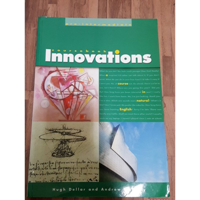 英文課本Innovations pre-intermediate