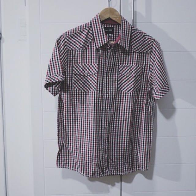 JAG Checkered Polo Shirt