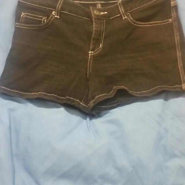 Jay Jays Black Denim Shorts
