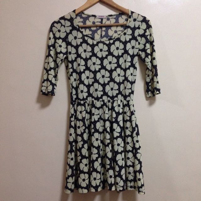 Jellybean Floral Dress