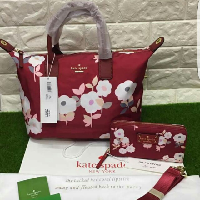 Kate Spade Bag Set