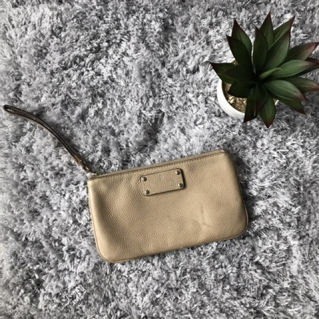 Kate Spade Clutch Taupe