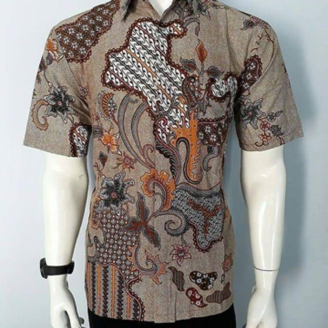 Kemeja Hem Batik