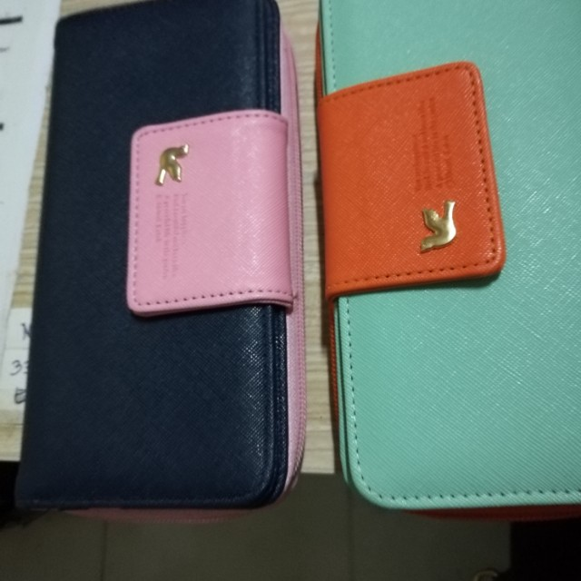 korean long wallet