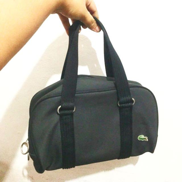 Lacoste Black Bag