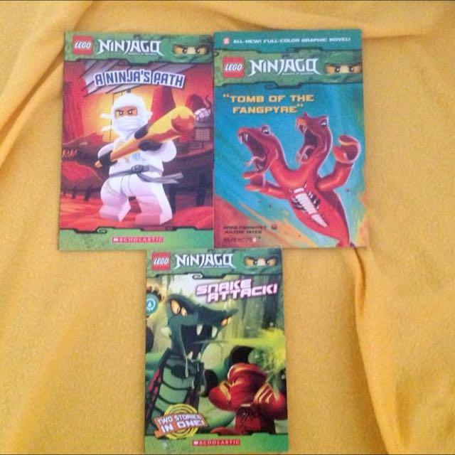 Lego Ninjago books