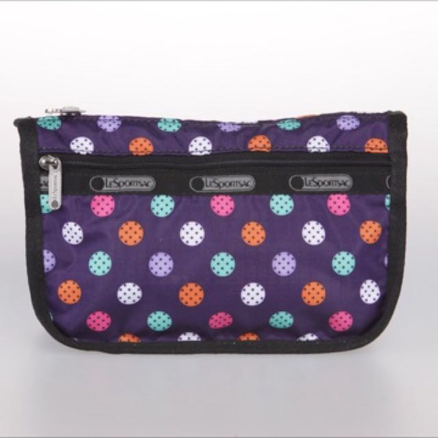 50b500f2b8 Lesportsac Make-up Pouch (Authentic)