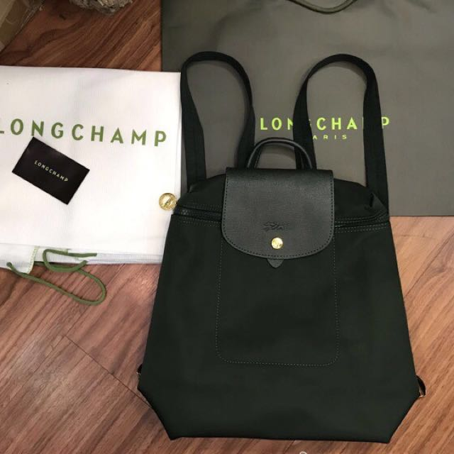 Long champ backpack(authentic)