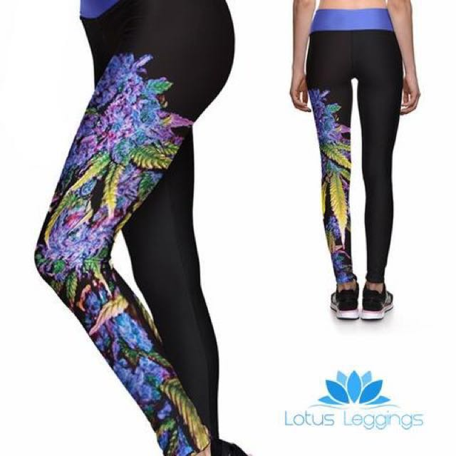 c6660640a3fda Lotus leggings, Sports, Athletic & Sports Clothing on Carousell