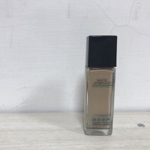 Maybelline fit me 粉底液