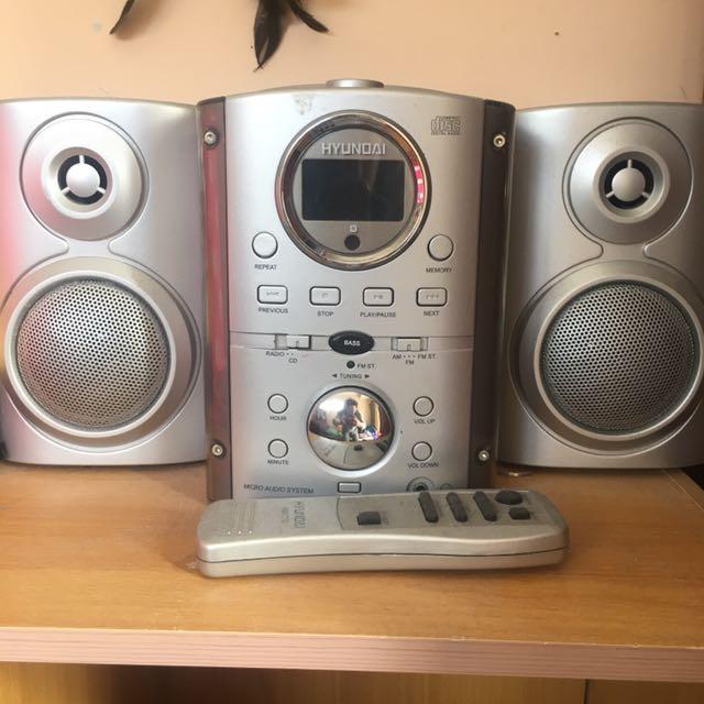 Micro audio system