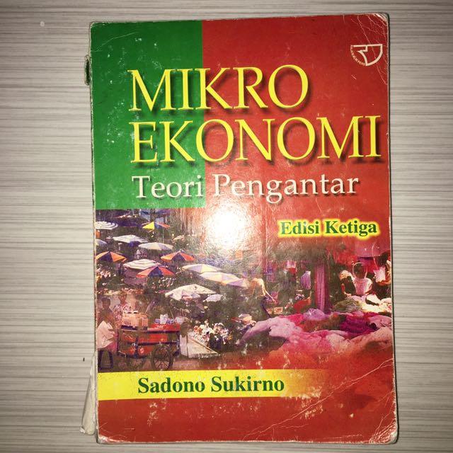MIKRO EKONOMI ( SADONO SUKIRNO ) eds.3