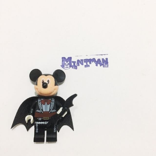 【萬聖節活動】Miniman手作飾品 mix系列積木人偶 樂高相容