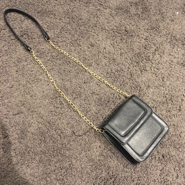 Miss Shop black clutch bag crossbody