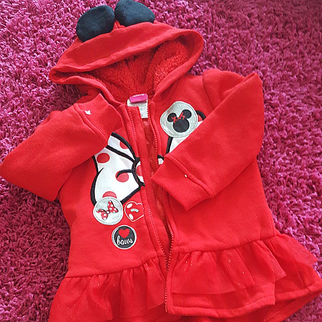 (NEW) 3T MINNIE MOUSE Hoodie