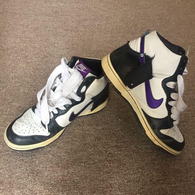 Nike high Top Heeled Runners Sneakers