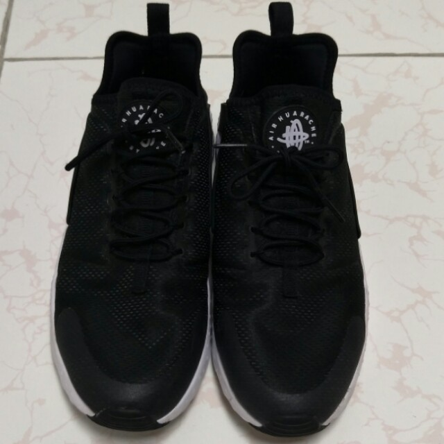 Nike Men\u0027s Air Huarache Run Ultra Black/White Japan Atmos